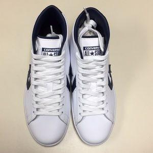 Converse men's pl 76 Mid skateboarding shoes